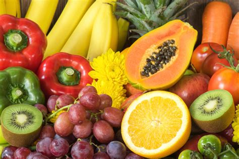 fresh cut fruits and vegetables fresh fruits and vegetables jigsaw puzzle in fruits