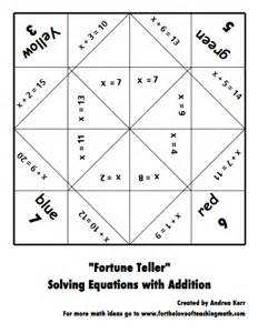 Multiplication Fortune Teller Template by How To Make Math And Reading Cootie Catchers