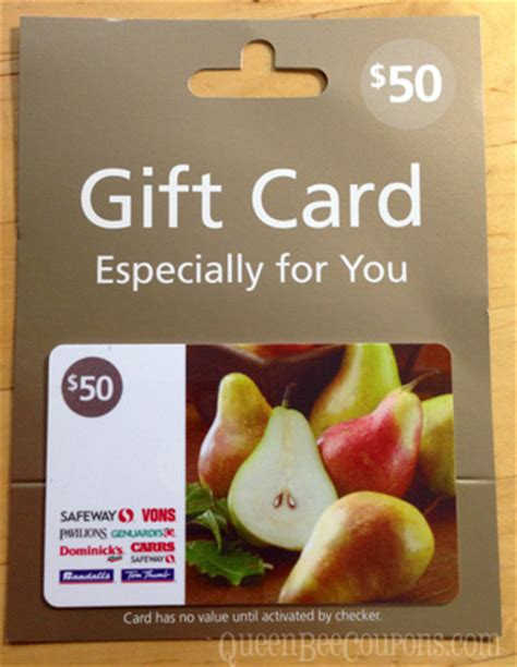 Safeway Buy Gift Cards - queen bee coupons savings