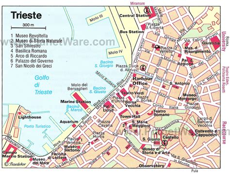 triest map 10 top tourist attractions in trieste easy day trips