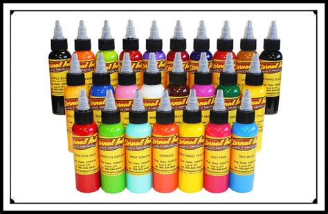 tattoo ink sets eternal ink sets bicknee supply