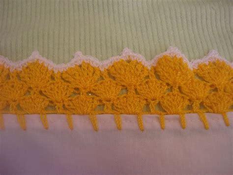 orillas para servilletas una vuelta orilla tejida amarilla 12 servilletas youtube