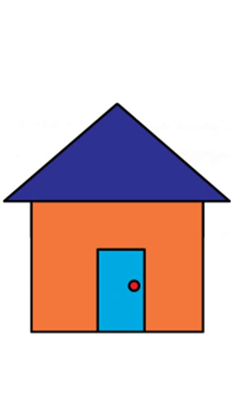 how to draw a house simple house drawing clipart best