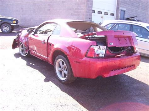 find used 2002 ford mustang gt salvage in honesdale