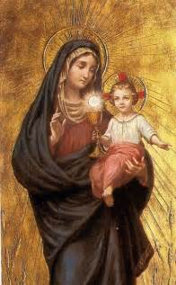 Mary mother of god may all nations come to know and love your son