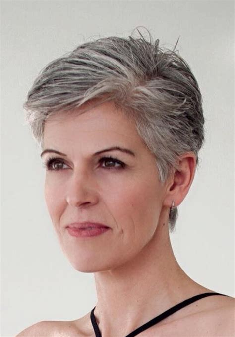 images of highlights on short gray hair pin by leila guahiba on grey hair pinterest natural