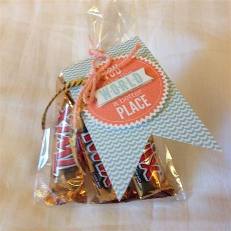 Handmade Thank You Gifts - i found these treat bags and thank you gift ideas on