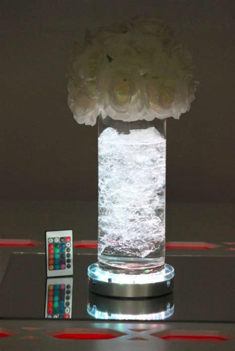 hot sale remote control centerpieces led vase lights