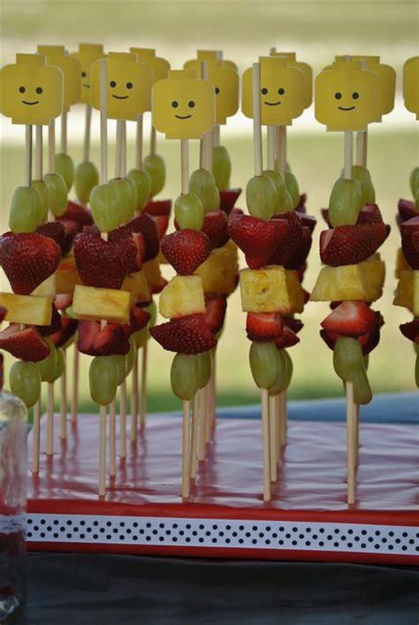 a fruit that isn t lego fruit skewers isn t that a idea