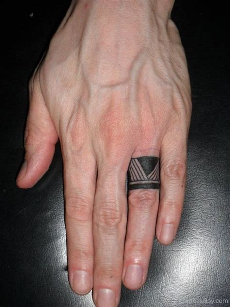 tattooed wedding rings ring tattoos designs pictures page 2