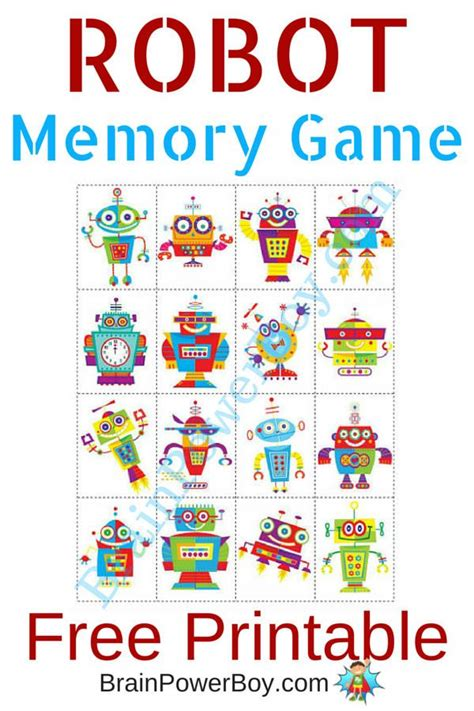 printable memory games 1000 images about kids monsters robots aliens on