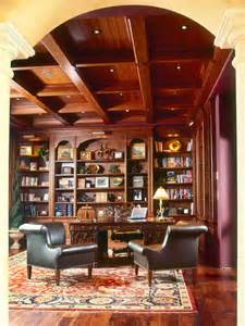Home Office Library by Dream House Library Decor