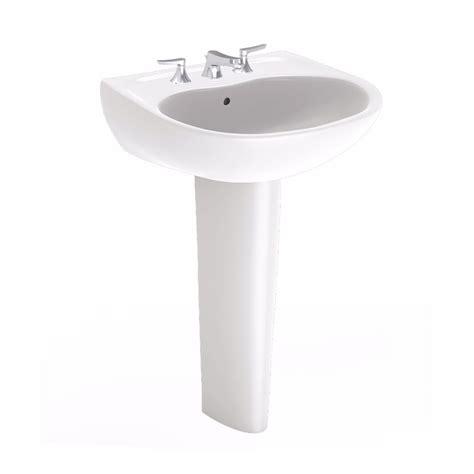 toto pedestal sink toto lpt241g supreme pedestal lavatory sink cotton home