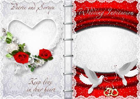 wedding invitation designs psd wedding invitations psd psd free
