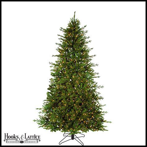 tree 9 ft pre lit 9 ft caroline pre lit fir artificial tree w