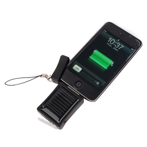 solar iphone charger emergency solar charger for the apple iphone and ipod