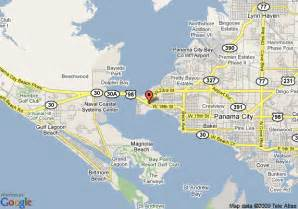 map of passport inn panama city panama city