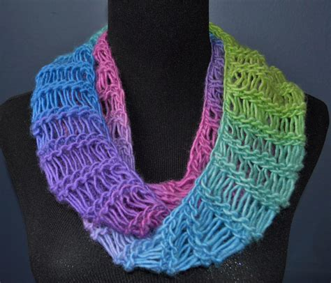 infinity scarf pattern knit youtube loom knit bind off infinity scarf youtube