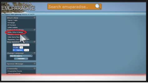 emuparadise net emuparadise alternatives best free retro gaming sites