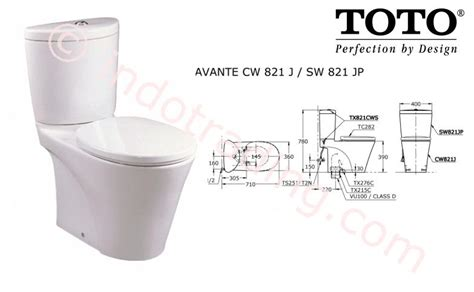 Closet Toto by Sell Toto Toilet Cw821pj Sw821jp From Indonesia By Kamar