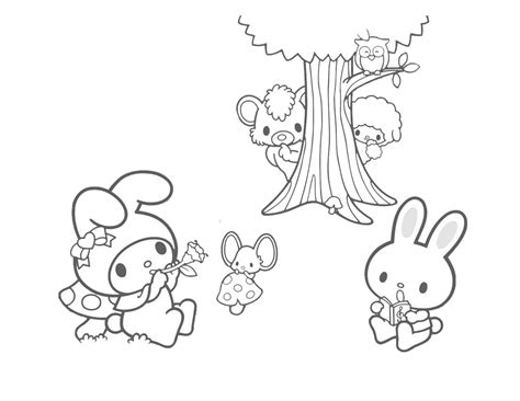 my melody coloring pages cartoons coloring pages my melody coloring pages