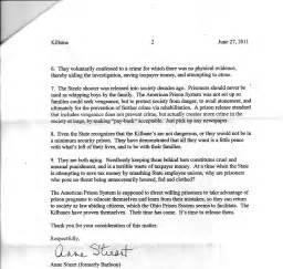 Parole Board Tx Sle Parole Support Letter Images