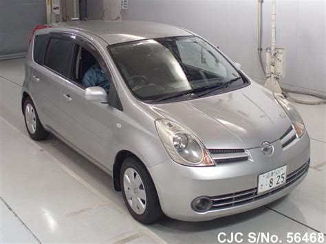 nissan note 2005 2005 nissan note silver for sale stock no 56468