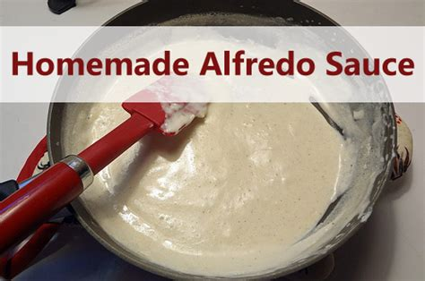 alfredo sauce recipe eat lose