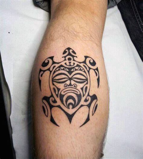 calf tribal tattoos 70 tribal turtle designs for manly ink ideas