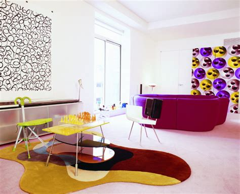vivacious colorful living rooms fun  comfort ideas
