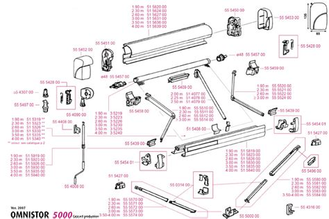 omnistor awning accessories 5000 spares