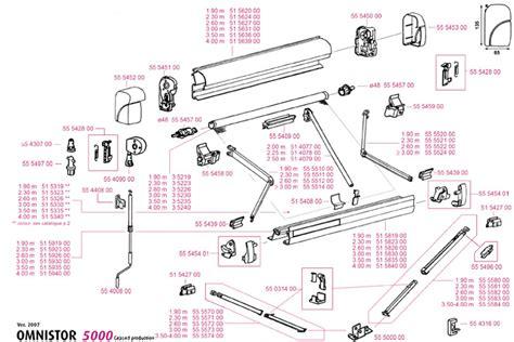omnistor awning spares kitchenaid produkter omnistor 5000