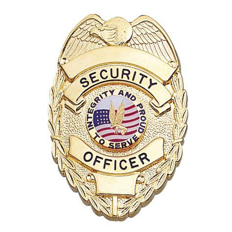 Handmade Badge - lawpro lite security officer shield badge