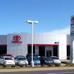 Beck Toyota Indianapolis Beck Toyota Scion Car Dealers Indianapolis In