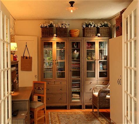 Food Cabinet by Ikea Hemnes Bookcase Glass Doors Home Design Ideas