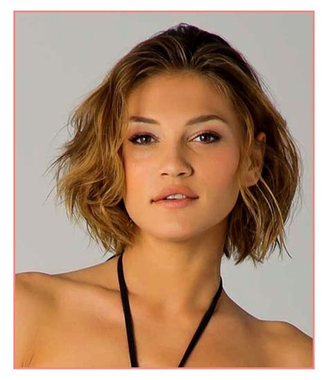 haircuts for thin wavy hair round face short hairstyles for fine wavy hair round face hairstyles