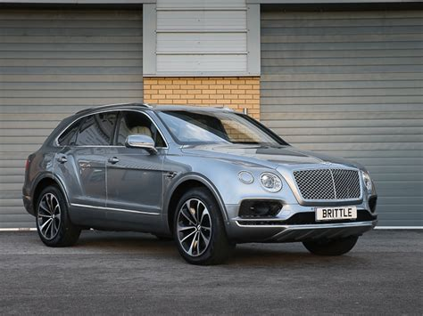 bentley bentayga silver bentayga w12 6 0 suv 2017 my brittle motor group