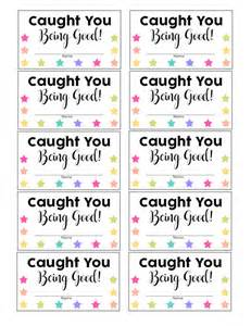 quot caught good quot punch cards happiness homemade
