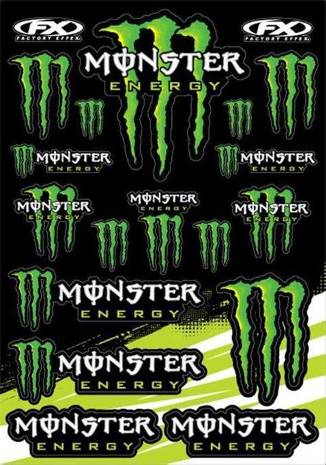 Monster Energy Kart Aufkleber by 5x Monster Energy Aufkleber Sticker B 246 Gen Neu In