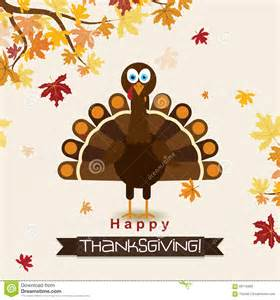 template greeting card with a happy thanksgiving turkey vector stock vector image 59715689