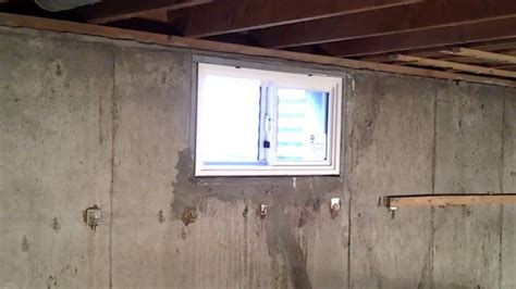 basement replacement window installation denver youtube