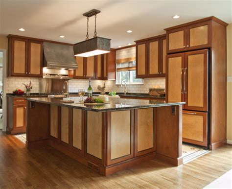 are two tone kitchen cabinets in style the two tone home abode