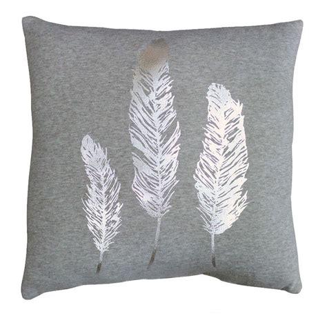 cuscino di piume cuscino trio piume grigio cuscino e fodera per cuscino