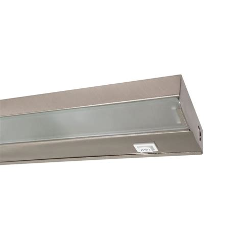 Nicor 21 5 In Xenon Pewter Under Cabinet Light Fixture Xenon Cabinet Light
