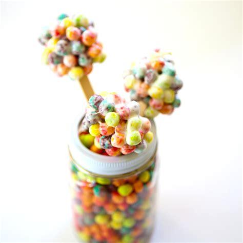Cereal Stick cereal on a stick sweet salty sticks cake pops pie pops and more popsugar food
