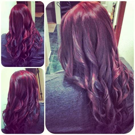 hair color on bottom healthy hair is beautiful hair red haircolor on top