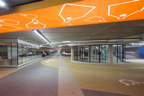 parking garage r design ondergrondse parkeergarage katwijk aan zee architecture