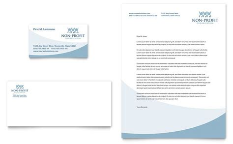 Non Profit Business Cards Templates by Community Non Profit Business Card Letterhead Template