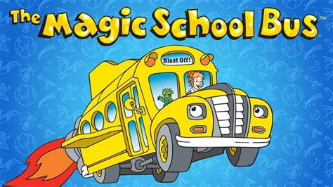Saturday morning cartoons the magic schoolbus now streaming