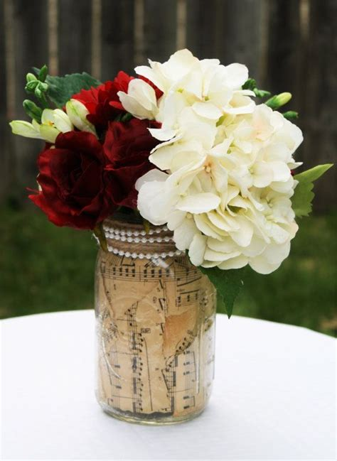 rustic jar centerpieces for weddings best 25 jar hydrangea ideas on gold